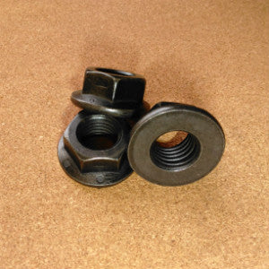 5/8-18 Grade 8 Hex Flange Nuts (Fine Thread)