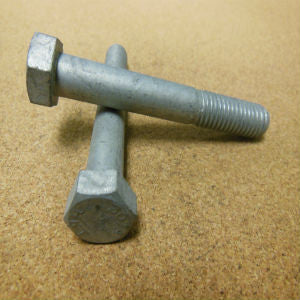 "3/8""-16 Hex Bolt Hot Dipped Galvanized"