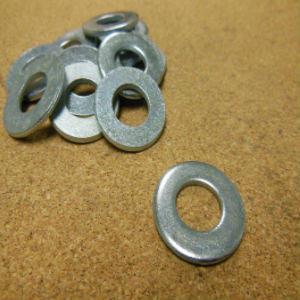 #6 Grade 2 SAE Flat Washer