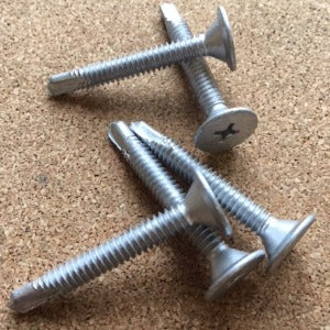 #10-24 x 1 1/2 Phillips Wafer Head Self Drilling Screw #3 pt. All Weather Coating