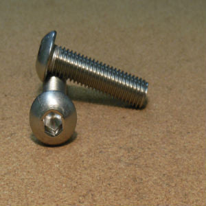 1/4''-20 Stainless Button Socket Head Cap Screw