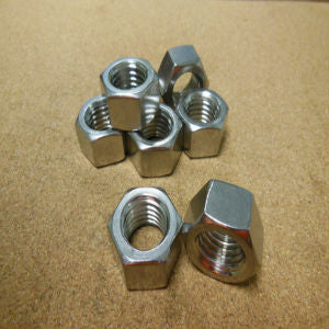 8-32 Stainless Steel Hex Nut