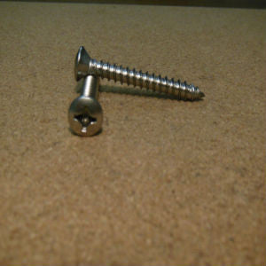 #8 Phillips Oval Head Sheet Metal Screw Stainless
