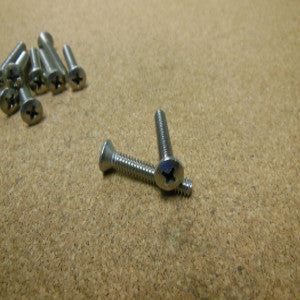6-32 Phillips Oval Head Machine Screw Stainless