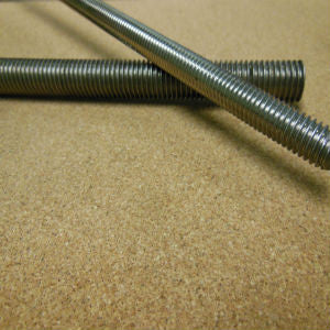 5/16-18 x 3ft Stainless Threaded Rod