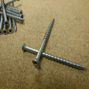 Stainless Steel Torx Drive Trim Head Screws