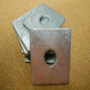 1/2'' Square Flat Washer HDG