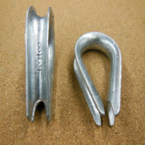 Wire Rope Thimble - Hot Dipped Galvanized