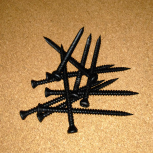 Trim Head Square Drive Screws