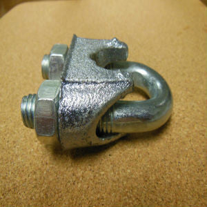 Wire Rope Clamp - Hot Dipped Galvanized