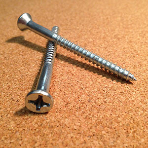 12 Zinc Wood Screw