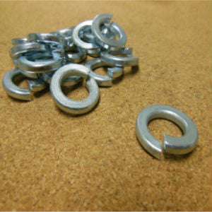1/4'' Grade 2 Lock Washer Zinc
