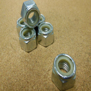 Stainless Steel Nylon Insert Lock Nut - Coarse Thread