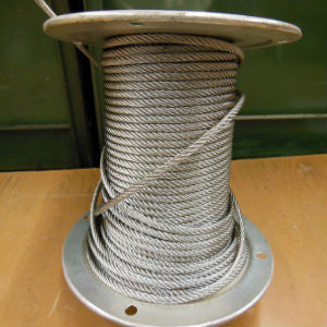 1/4'' Stainless Wire Rope