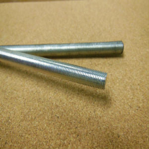 3/8-24 x 3ft Zinc (fine thread)