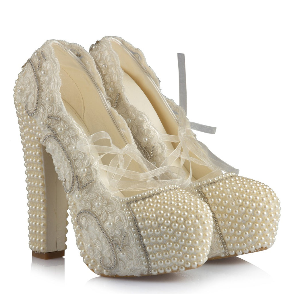 Women's Bridal Heeled Shoes