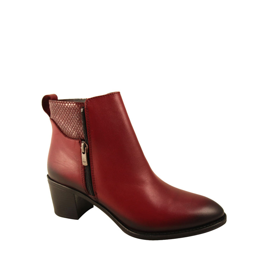 Women's Claret Red Boots