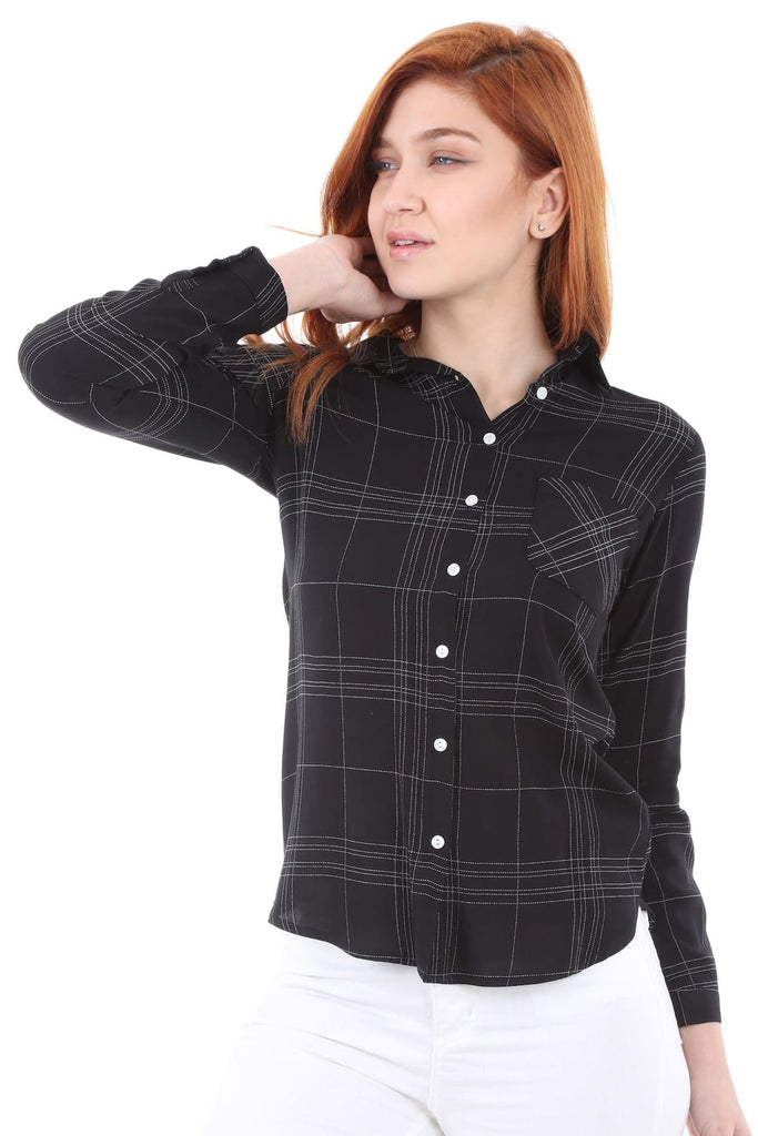 Women's One Pocket Shirt