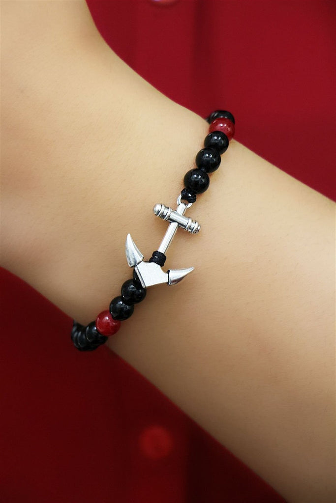 Unisex Anchor Figure Bracelet