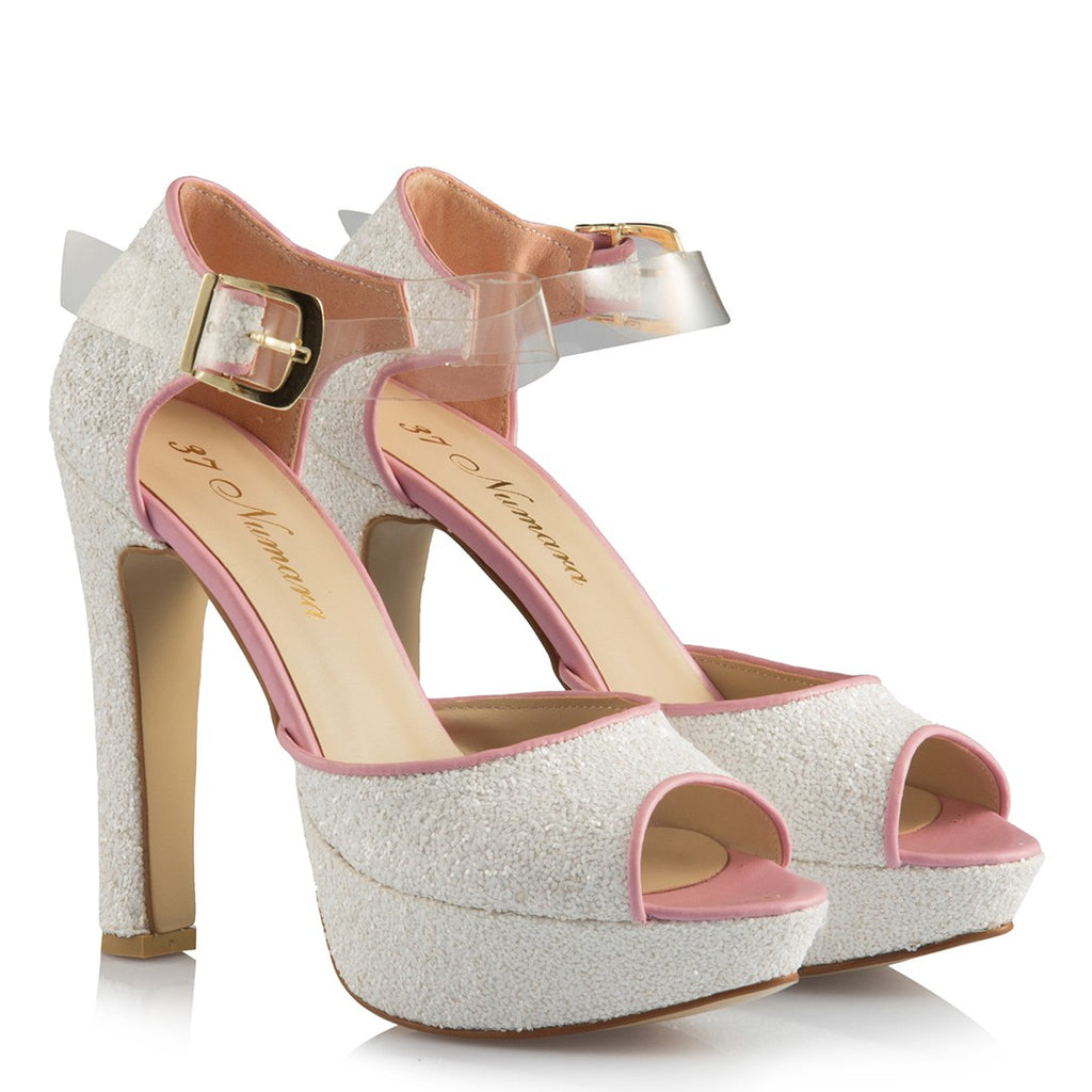Women's Belted Bridal Heeled Shoes