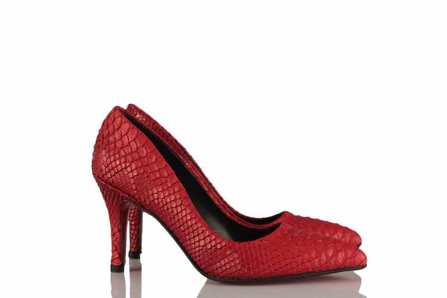 Women's Red Stiletto Shoes