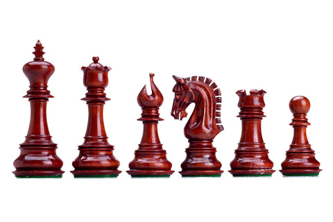 Buy Archimedes Padauk or Ebony Chess Pieces for R 2999.95