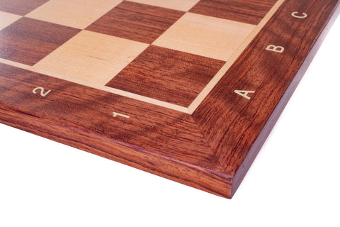 Buy Padauk & Maple Wood Chess Board With Notation for R 800.00