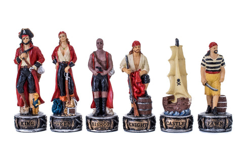 Buy Pirates Resin Chess Set for R 2200.00