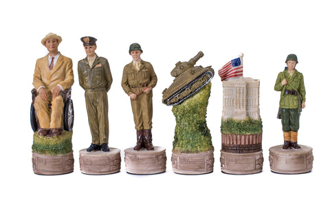 Buy World War 2 Resin Chess Set for R 2200.00