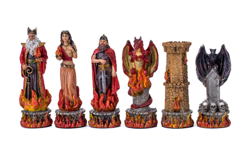 Buy Hades vs Poseidon Fantasy Resin Chess Set for R 1990.00