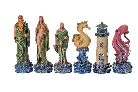 Buy Hades vs Poseidon Fantasy Resin Chess Set for R 2200.00