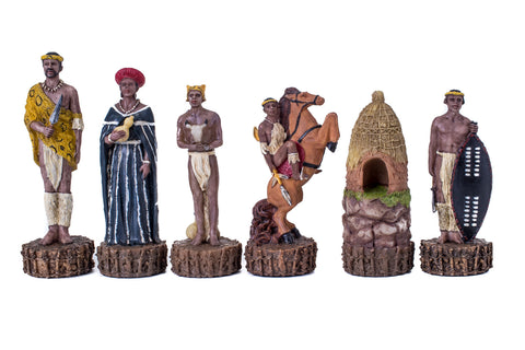 Buy Zulu vs British Resin Chess Set for R 1990.00