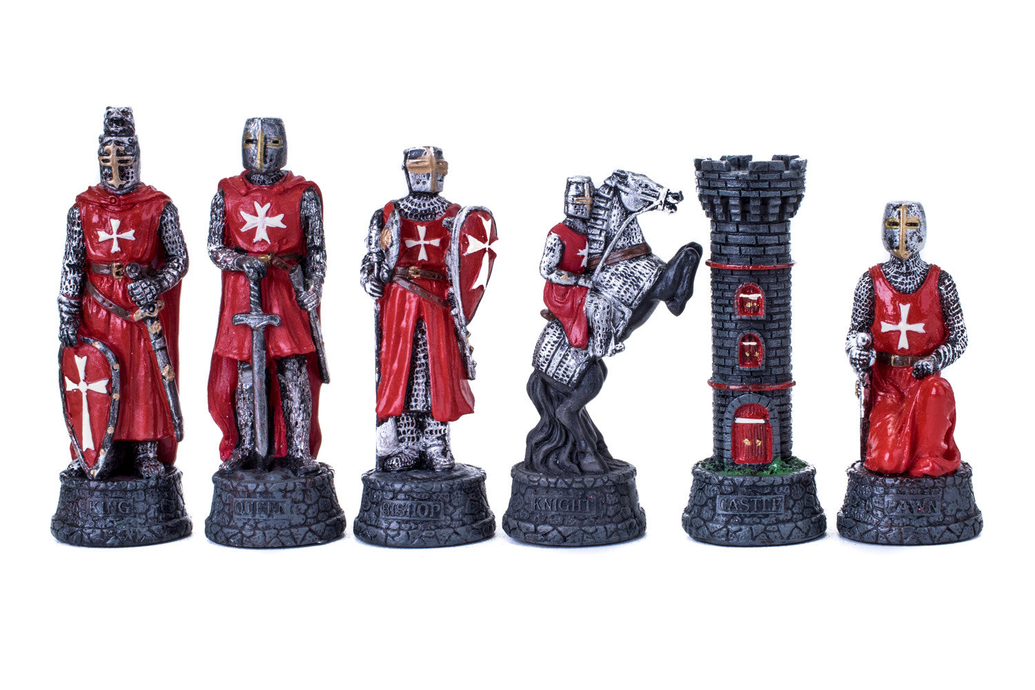 Buy Crusader Knights Resin Chess Set For R 199000
