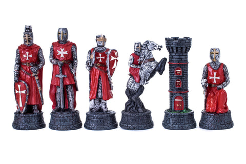 Buy Crusader Knights Resin Chess Set for R 1990.00