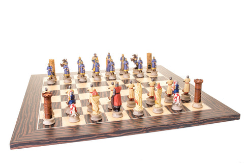 Buy Crusaders vs Saracens Resin Chess Set for R 1990.00