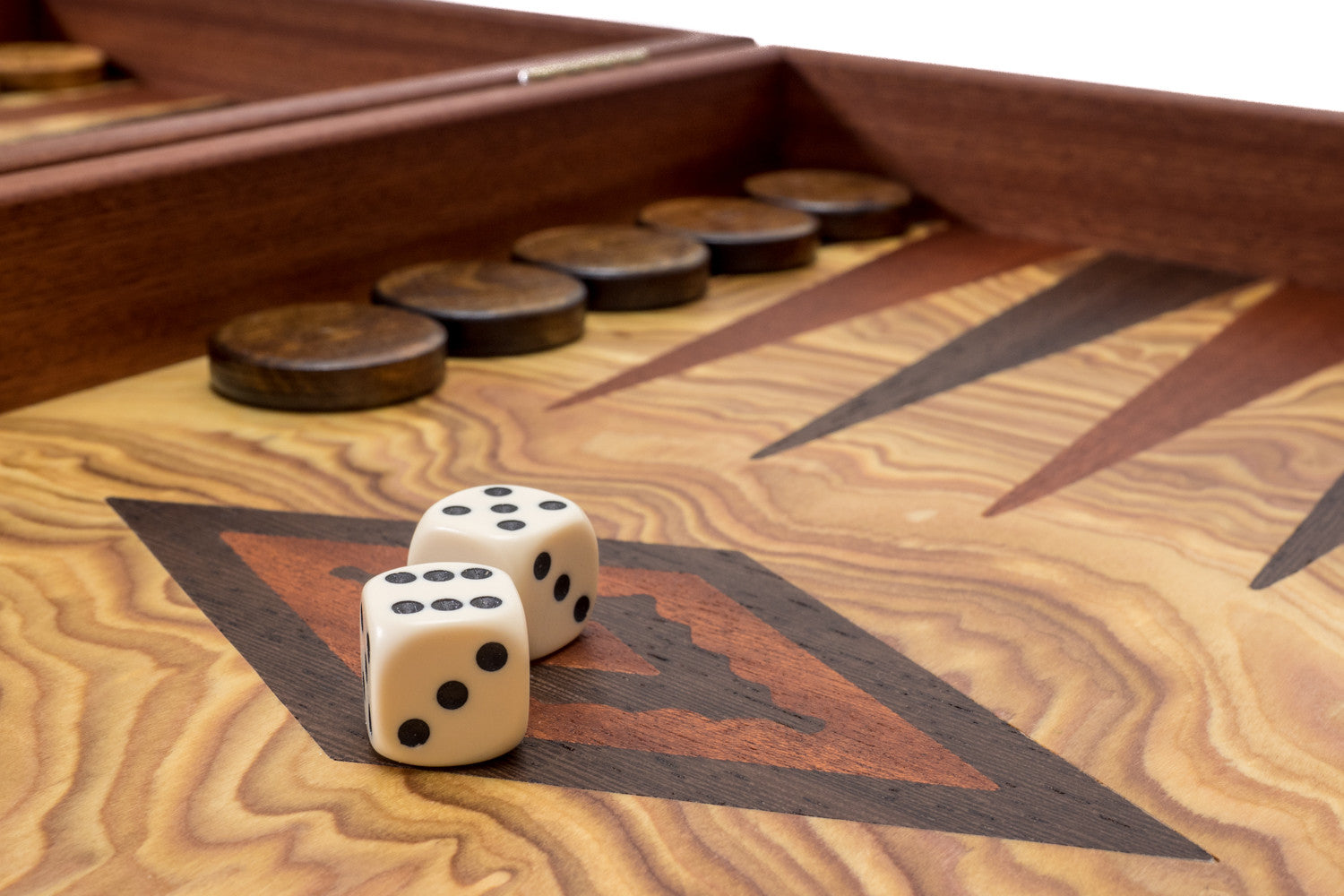 Buy Olive Burl Wood Luxury Backgammon at Chessafrica co za