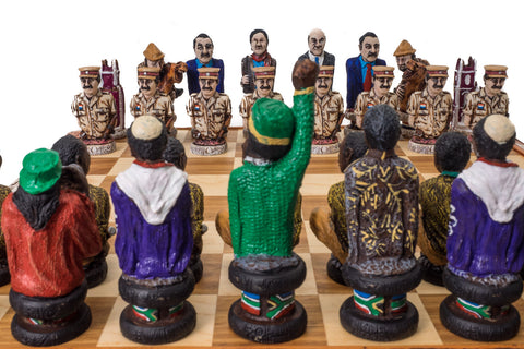 Buy Robben Island Political Chess Set & Board for R 3990.00