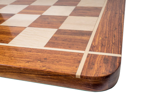 Buy Sheesham Wood Chess Board Cross Inlaid for R 2890.00