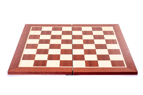 Buy Mahogany and Maple Veneer Folding Wooden Chess Board for R 899.00