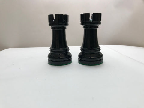 Buy Bargain 34 - BLACK LAQUER ROOKS (2 PIECES) for R 30.00