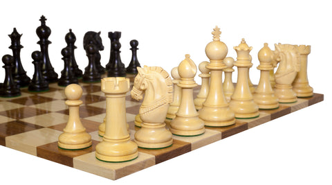Double Sided Flat Acacia Solid Wood Chess Boards