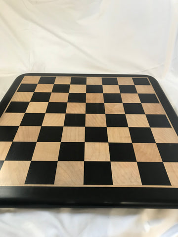 Buy BARGAIN SET 44 - EBONY WOOD SOLID CHESS BOARD for R 1990.00