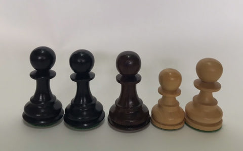 Bargain 44 - PAWNS (5 PIECES ONLY !!) DIFF SIZES