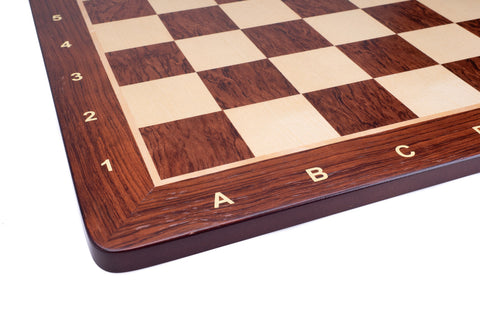 Buy Padauk & Maple Wood Chess Board Round Corners With Notation for R 790.00