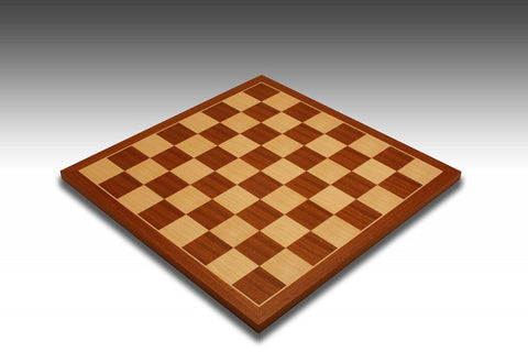 Rechapados Ferrer Mahogany & Maple Chess Board - Chessafrica.co.za  - 3