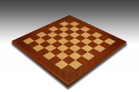 Rechapados Ferrer Deluxe Mahogany & Maple Diagonal Frame Chess Board - Chessafrica.co.za  - 1