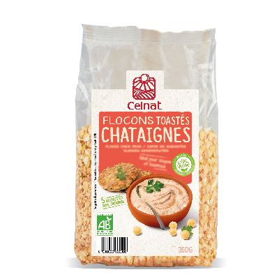 FLOCONS CHATAIGNES TOAS. 350G