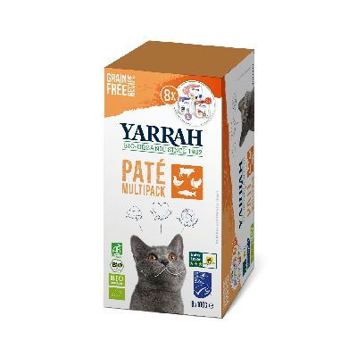 PACK CHAT PATE 8X100G
