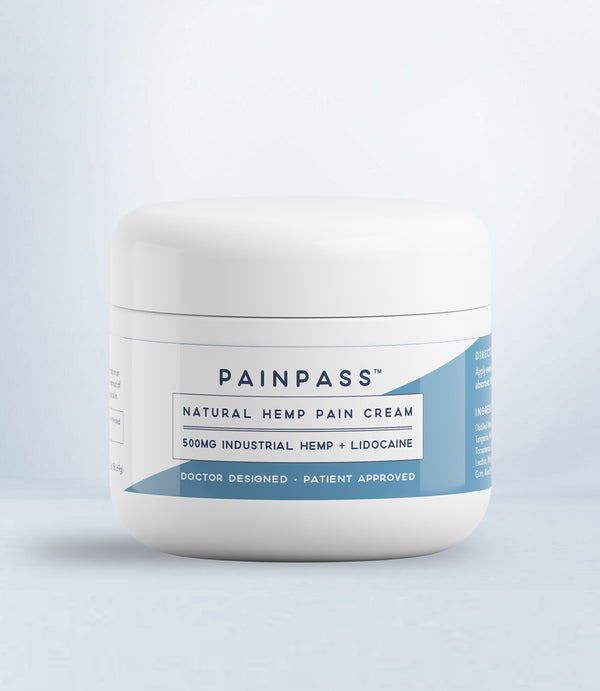 Natural Hemp Pain Cream