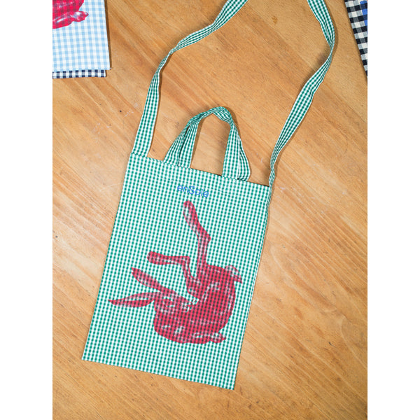 'Rabbit Carry All' kids bag green
